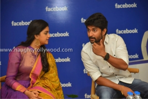 134-13keerthi-suresh-nani-at-facebook