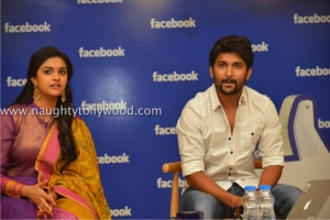 134-14keerthi-suresh-nani-at-facebook