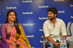 134-24keerthi-suresh-nani-at-facebook