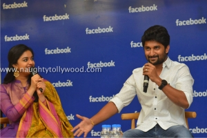 134-49keerthi-suresh-nani-at-facebook