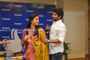134-76keerthi-suresh-nani-at-facebook