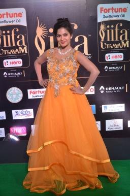 madhumitha hot at iifa awards 2017DSC_9967