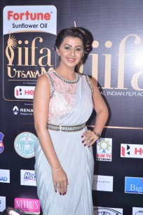 nikki galrani hot in saree at iifa awards 2017DSC_7564