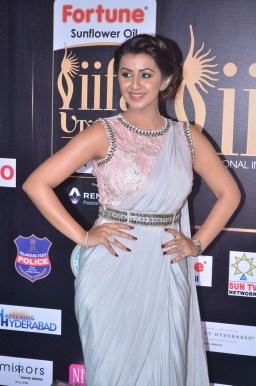 nikki galrani hot in saree at iifa awards 2017DSC_7582