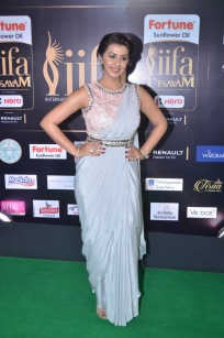 nikki galrani hot in saree at iifa awards 2017DSC_7601