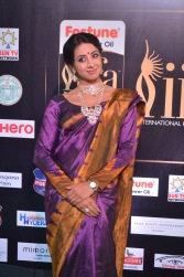 sanjjana hot in saree at iifa awards 2017 DSC_0598