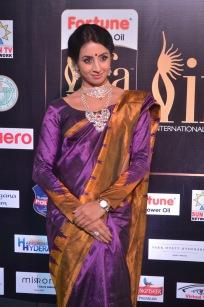 sanjjana hot in saree at iifa awards 2017 DSC_0603