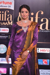 sanjjana hot in saree at iifa awards 2017 DSC_0613