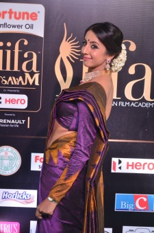 sanjjana hot in saree at iifa awards 2017 DSC_0626