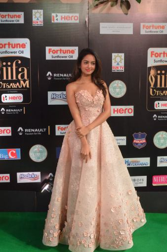 shanvi srivatsav hot at iifa awards 2017 DSC_17820833