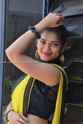 aswini hot in yellow saree 2017Aswini (122)_wm