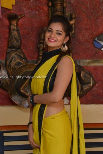 aswini hot in yellow saree 2017Aswini (143)_wm