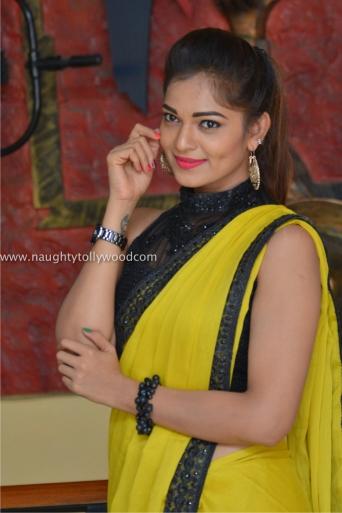 aswini hot in yellow saree 2017Aswini (171)_wm