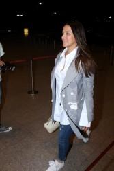 neha dhupia spooted at airport IMG_3540