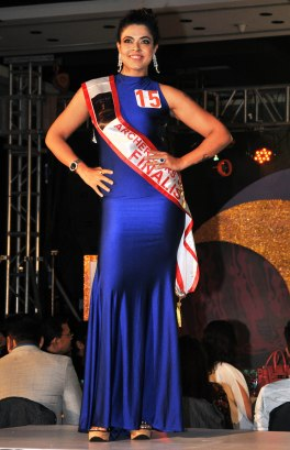 Participants at the finale of 'ARF Mrs. India 2017' Beauty Pageant was held at Sahara Star, Mumbai.10