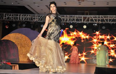 Participants at the finale of 'ARF Mrs. India 2017' Beauty Pageant was held at Sahara Star, Mumbai.7