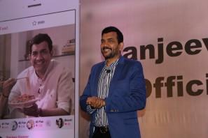 sanjiv kapoor mobile app launchIMG_1131