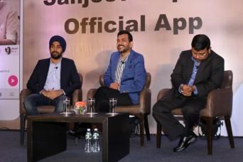 sanjiv kapoor mobile app launchIMG_1147