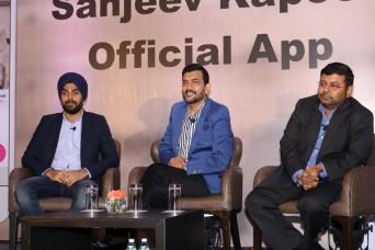 sanjiv kapoor mobile app launchIMG_1161