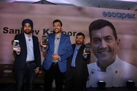 sanjiv kapoor mobile app launchIMG_1228