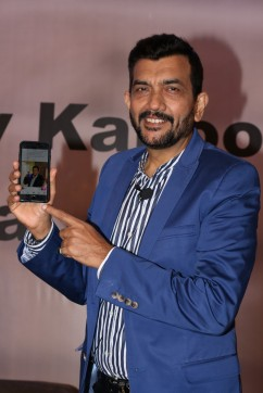 sanjiv kapoor mobile app launchIMG_1260