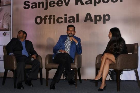 sanjiv kapoor mobile app launchIMG_1262