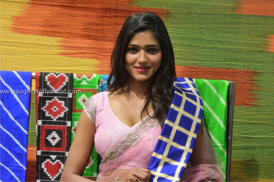 shalu chourasiya hot in pink saree 201700021_wm