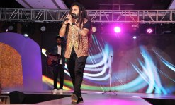Singer Kunal Wason performed at the finale of 'ARF Mrs. India 2017' Beauty Pageant was held at Sahara Star, Mumbai.1