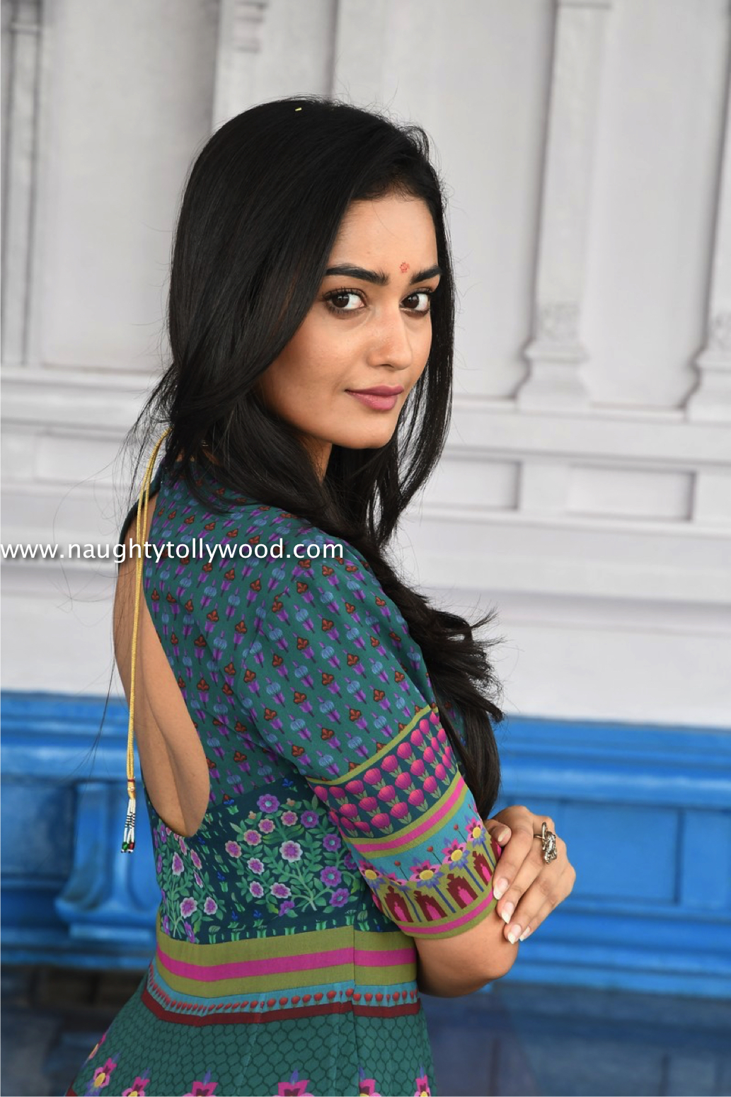 tridha chowdary at manjula movie opening Tredha Chowdary (3)_wm